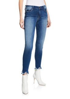 FRAME Le Skinny de Jeanne JH Zig-Hem Jeans