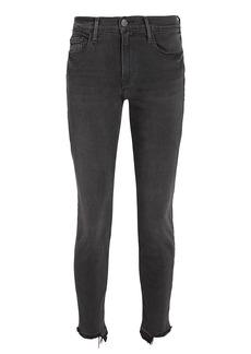FRAME Le Skinny De Jeanne Crop Released Hem Jeans