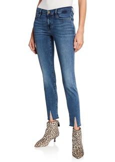FRAME Le Skinny De Jeanne RS Slim-Split-Hem Jeans