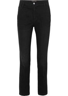 FRAME Le Slender High-rise Straight-leg Jeans
