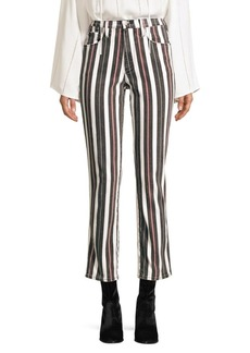 FRAME Le Sylvie Band Stripe Jeans