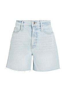 FRAME Le Tour Cut-Off Denim Shorts