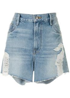 FRAME Le Ultra Baggy high-rise shorts
