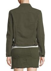 307b7ea4b4f FRAME Le Vintage Button-Front Denim Jacket