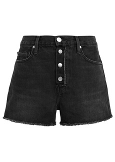 FRAME Le Vintage Denim Shorts