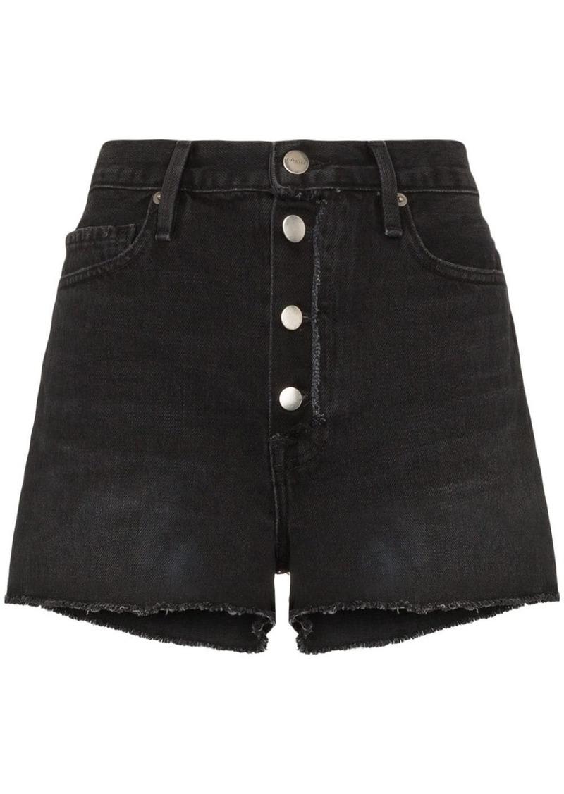 FRAME Le Vintage raw trim shorts
