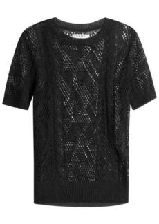 FRAME Linen Knit Top