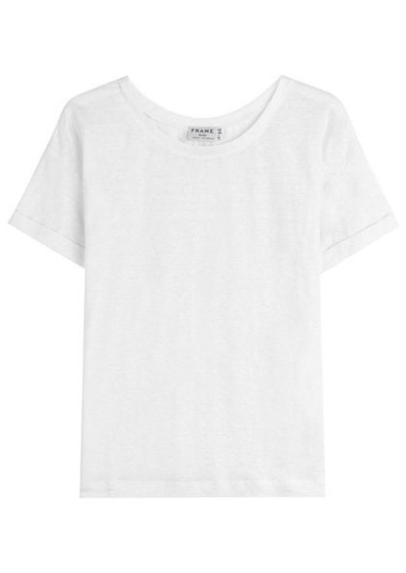 FRAME Linen T-Shirt