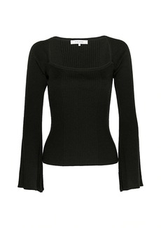 FRAME Luxe Bell-Sleeve Sweater