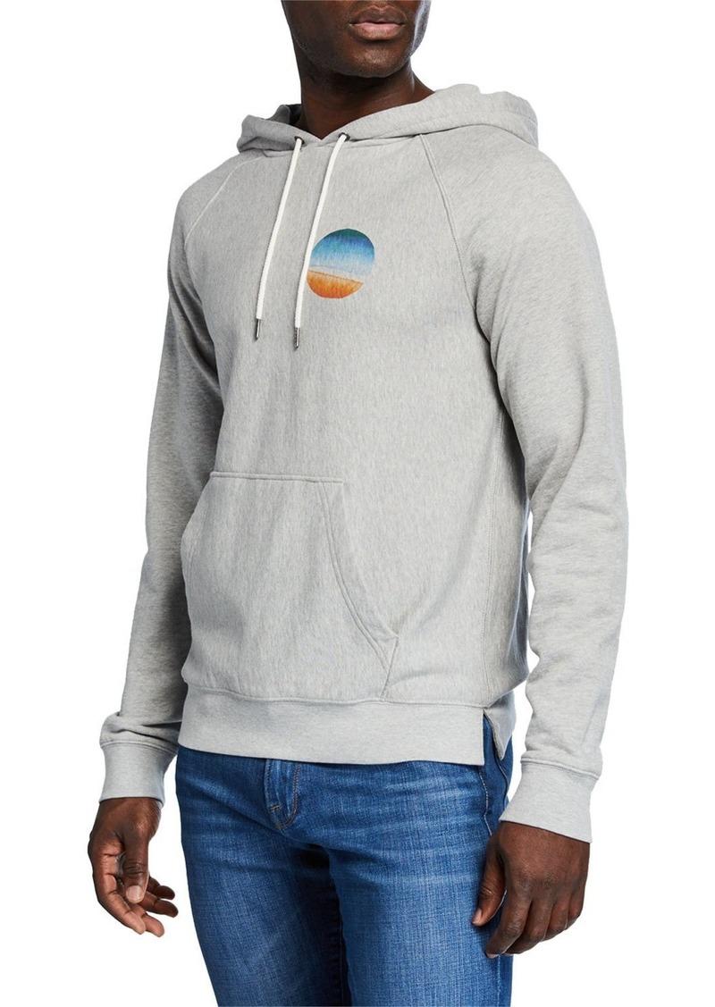 FRAME Men's Sunset Raglan-Sleeve Pullover Hoodie
