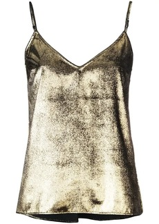 FRAME metallic camisole top