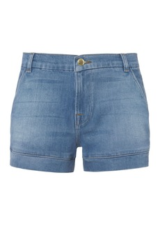FRAME Mitered Denim Shorts