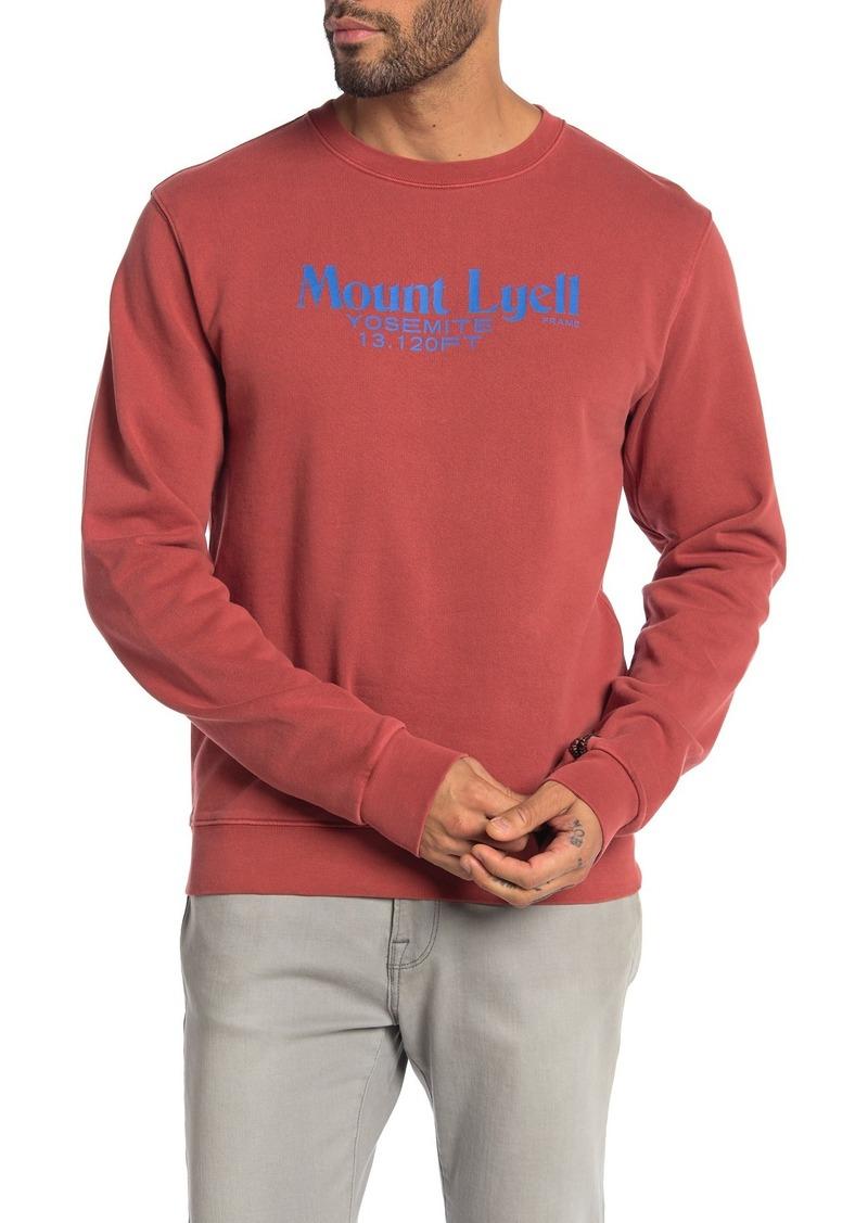 FRAME Mount Lyell Sweatshirt