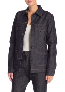 FRAME Oversized Denim Jacket
