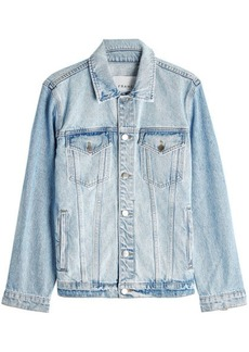 FRAME Oversized Denim Jacket