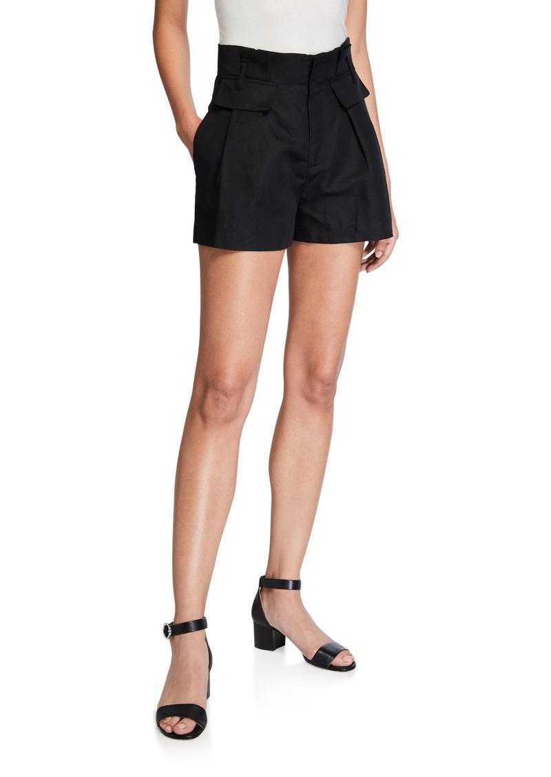 FRAME Paperbag Shorts