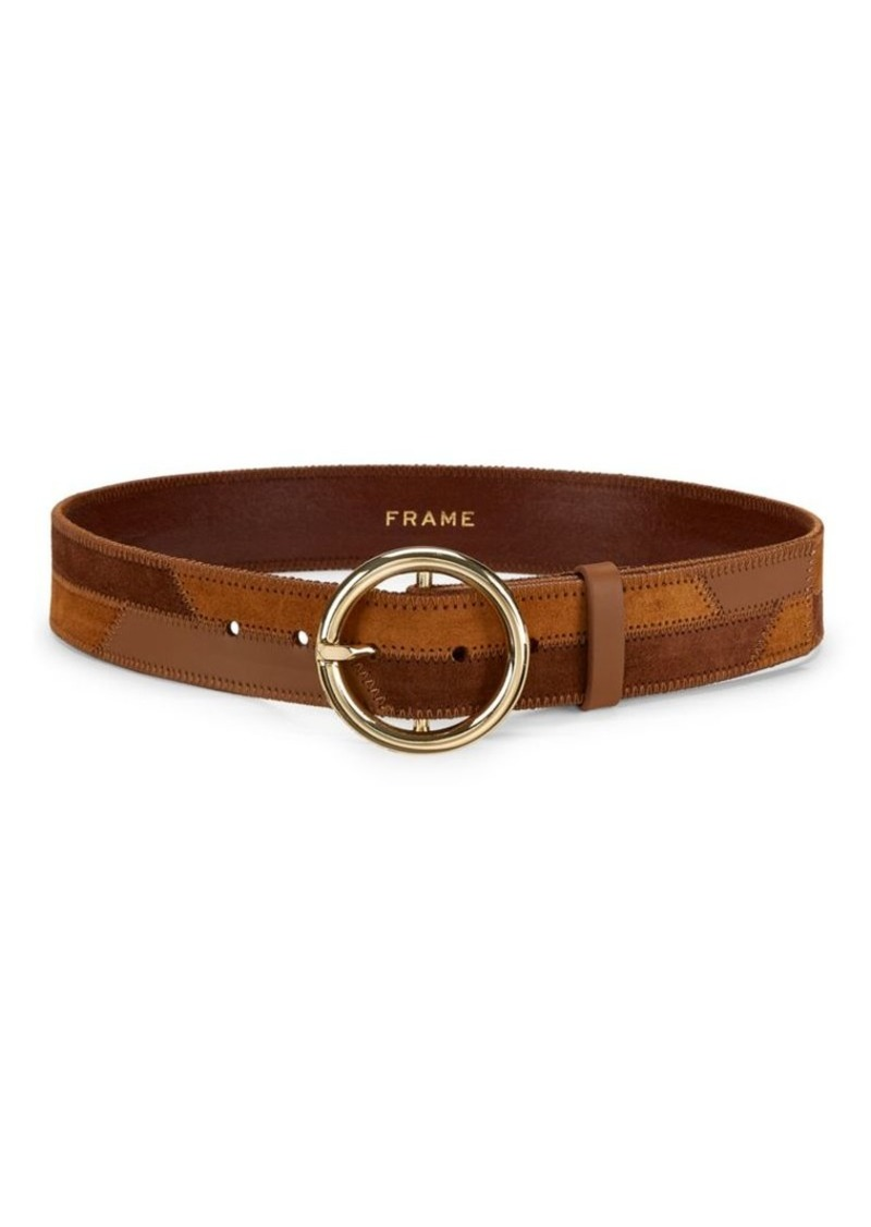 FRAME Patchwork O-Ring Belt