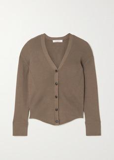 FRAME Phoebe Ribbed-knit Cardigan