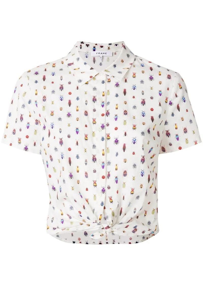 FRAME printed style shirt