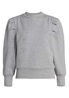 FRAME Puff-Sleeve Sweatshirt