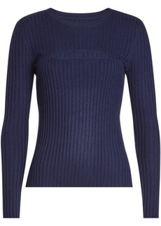 FRAME Pullover with Wool