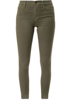 FRAME raw edge skinny jeans