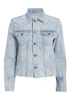 FRAME Raw Hem Cloud Jacket