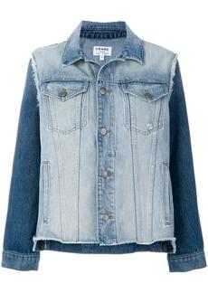 FRAME reconstructed denim jacket