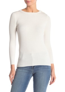 FRAME Ribbed Crew Neck Sweater