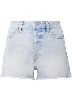 FRAME Rigid Re-Release Le Original distressed denim shorts