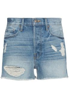 FRAME Rigid Re Release Le Original high rise shorts