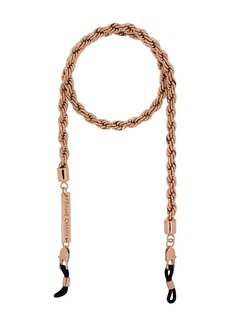 FRAME rose gold-plated Hey Shorty fat roller chain