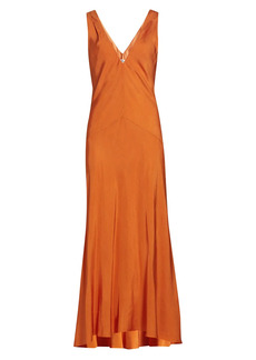 FRAME Savannah Maxi Dress