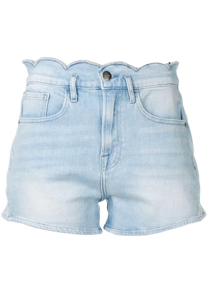 FRAME scallop edge shorts