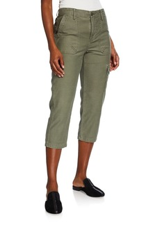 FRAME Service Cropped Cargo Pants