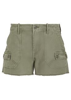 FRAME Service Cut-Off Cotton Shorts