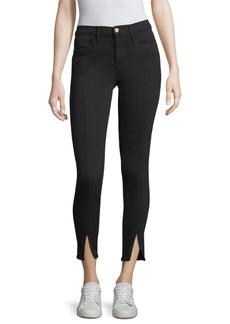 Skinny Ankle-Split Jeans
