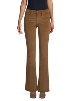 FRAME Le High Flare Corduroy Pants