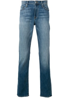 FRAME slim fit faded jeans