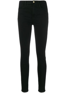 FRAME slim fit trousers