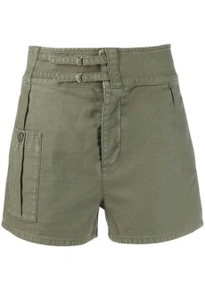 FRAME slim-fit utility shorts