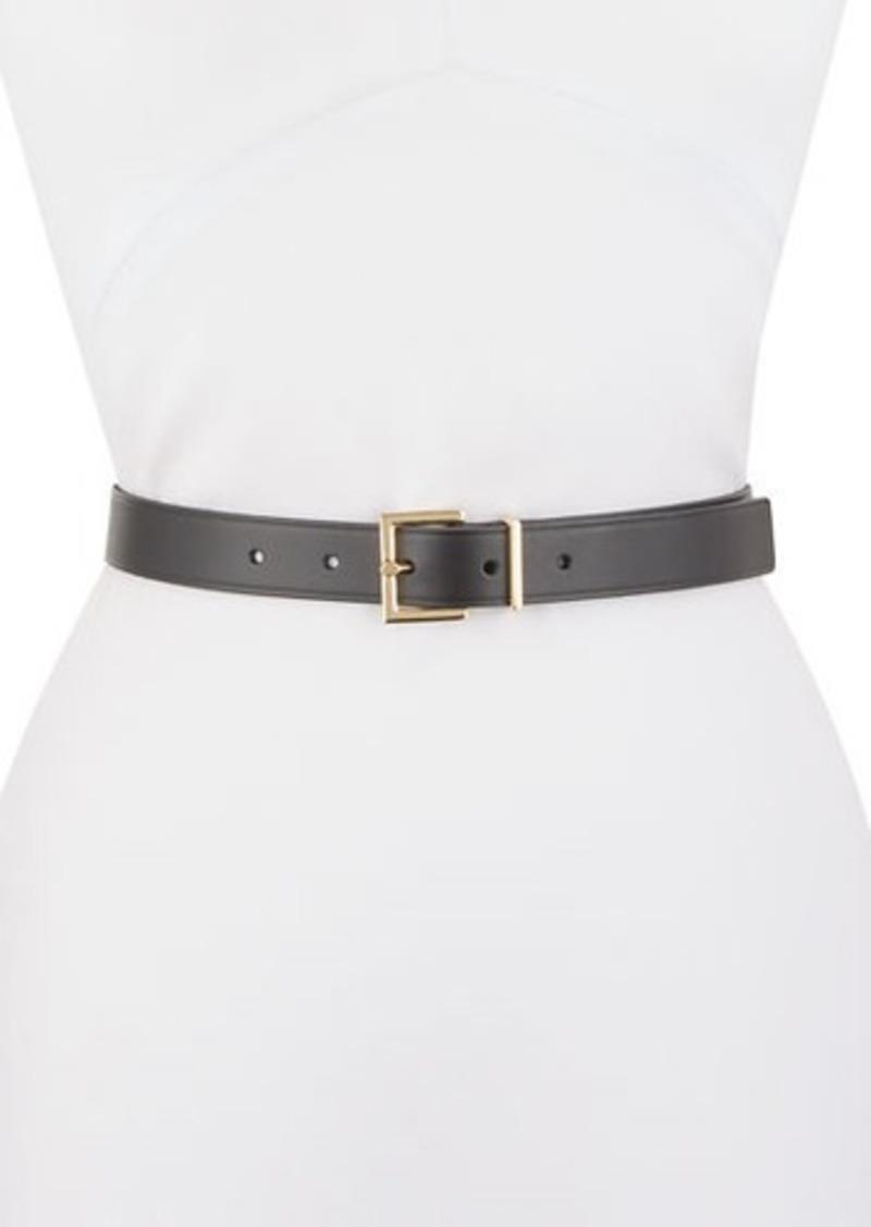 FRAME Square-Buckle Leather Belt