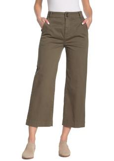 FRAME Straight Leg Crop Pants