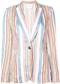 FRAME striped blazer