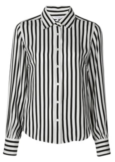 FRAME striped long-sleeved shirt