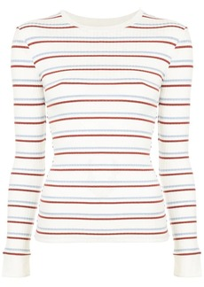 FRAME striped longsleeved T-shirt
