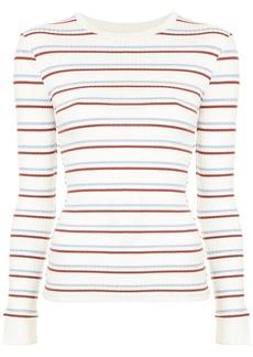 FRAME striped longsleeved T-shirt