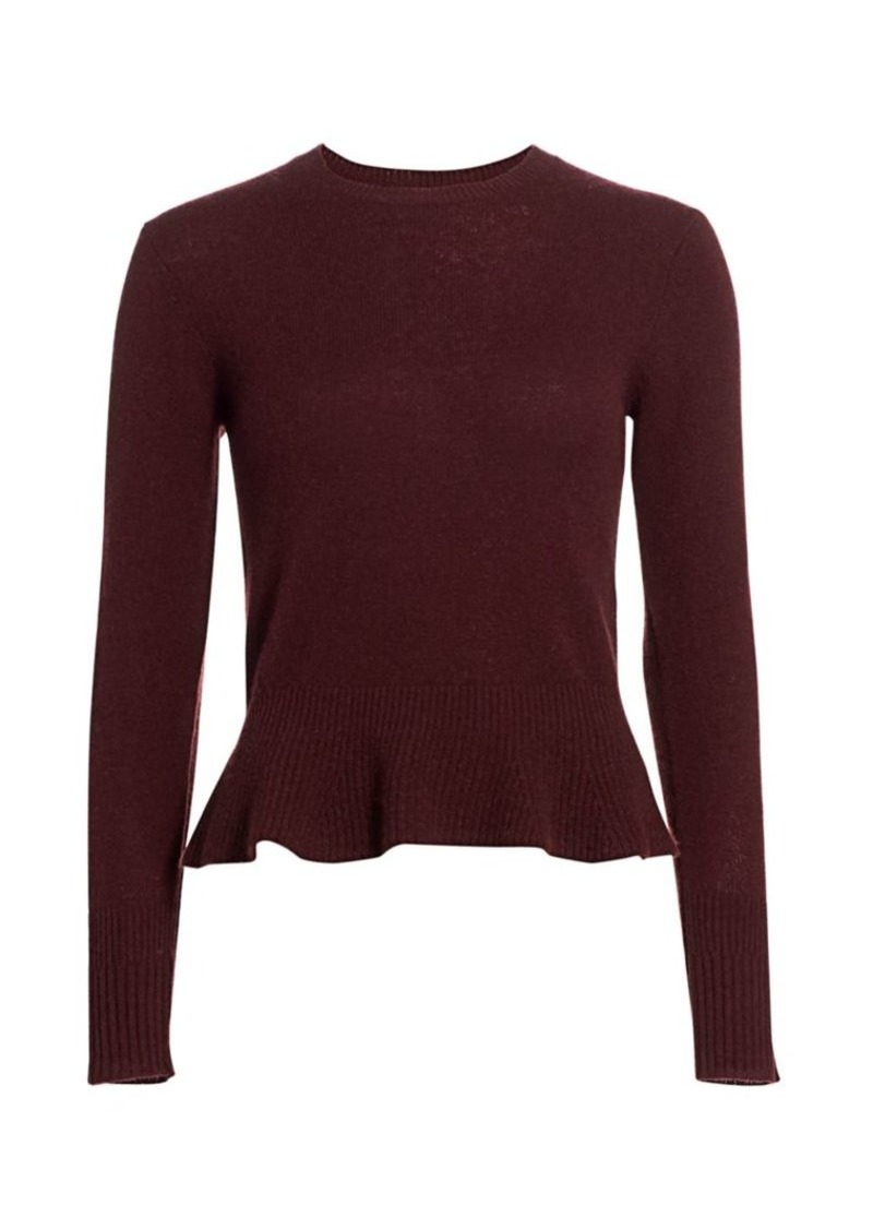 FRAME Sustainable Cashmere Cinched Sweater