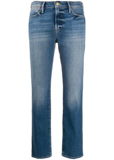 FRAME Sustainable Le High straight-jeans