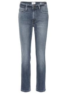 FRAME Sylvie high-rise straight jeans